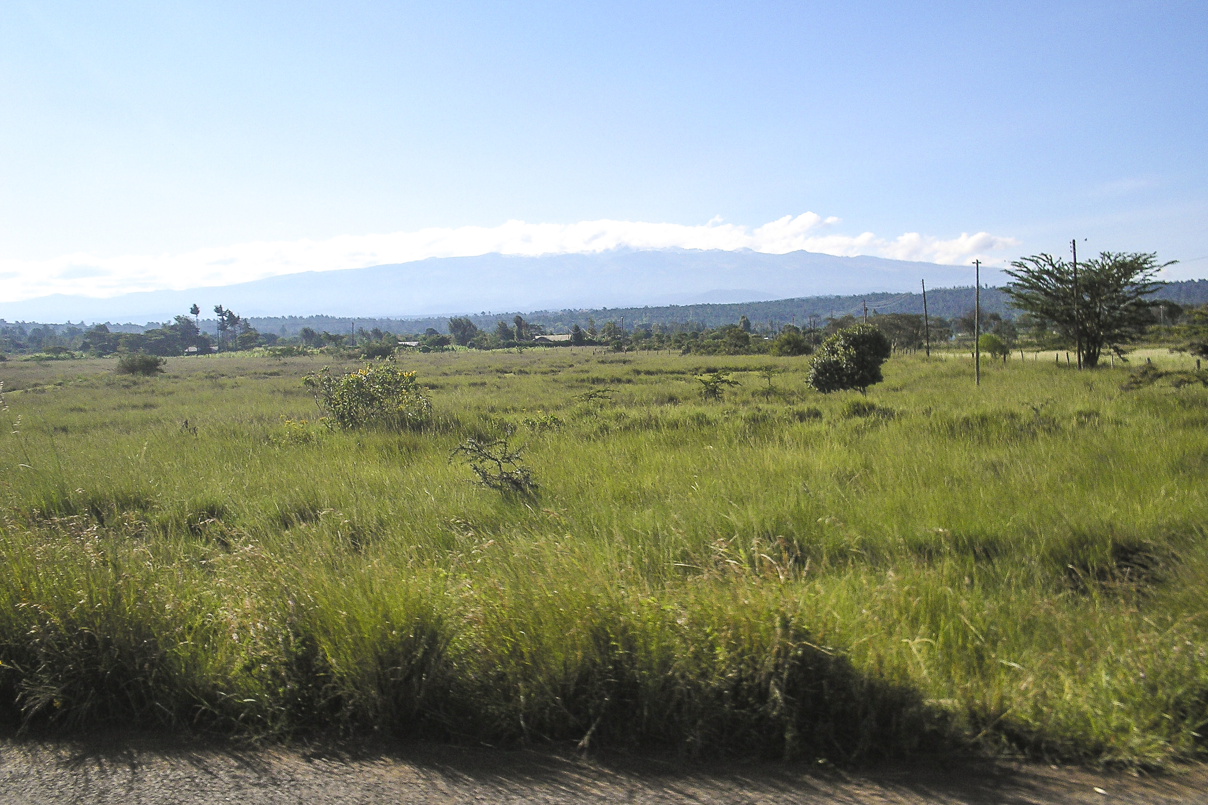 Fahrt Richtung Samburu durch das Rift-Valley